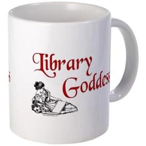 library_goddess_vintage_mug
