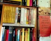 Livros de suspense na Acqua Alta.